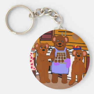 Fresh from the Oven Keychain