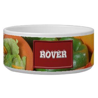 Fresh fruit and vegetables bowl