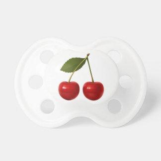 Fresh Fruit Cherries Baby Pacifier