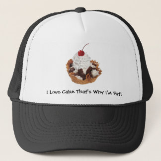 Fresh Fruit Cherry Dessert Hat