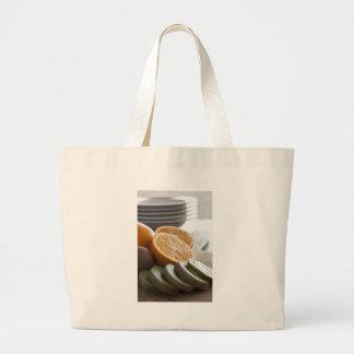 Fresh Fruit for Breakfast Cloth Shopping Bag