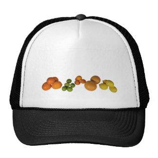 fresh fruit mesh hat
