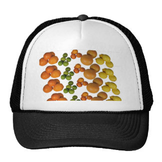 fresh fruit mesh hats