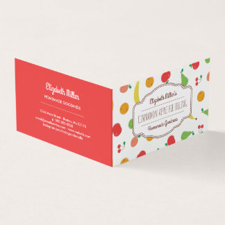 Fresh Fruit Home Canned Goods & Baking Hang Tag