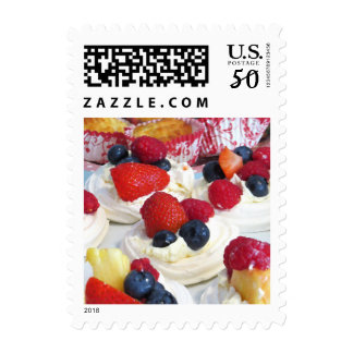 Fresh Fruit Meringues Postage/Stamp Postage