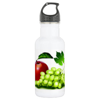 Fresh Fruit 18oz Water Bottle