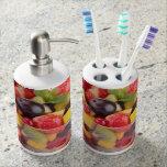 Fresh fruit salad bath sets