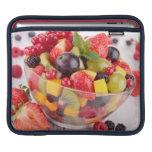 Fresh fruit salad sleeves for iPads