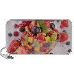 Fresh fruit salad speaker