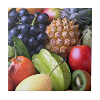 Fresh Fruit - Sweet Display Small Square Tile