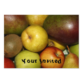 Fresh Fruit  Your Invited Card