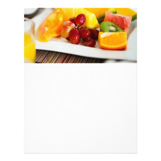 Fresh fruits and berries flyer