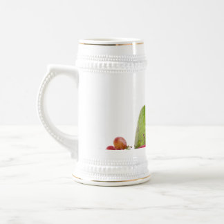 Fresh Fruits and Vegetables Layout Beer Stein