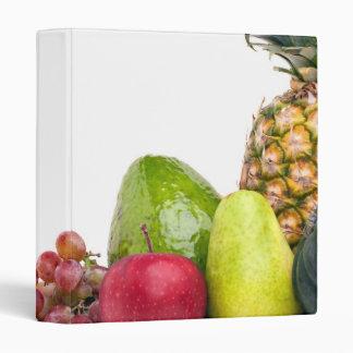Fresh Fruits and Vegetables Layout Binder