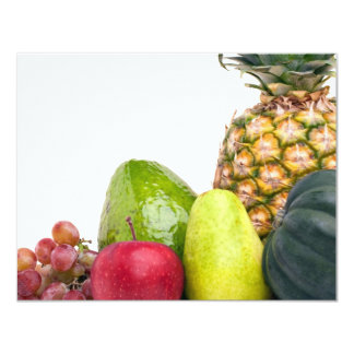 Fresh Fruits and Vegetables Layout Card