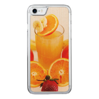 Fresh Fruits Carved iPhone 7 Case
