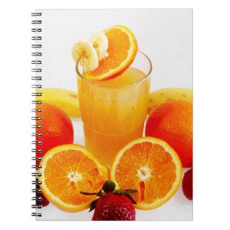 Fresh Fruits Spiral Note Book