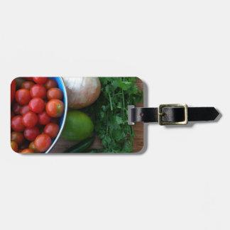 Fresh Garden Veggies Tag For Luggage
