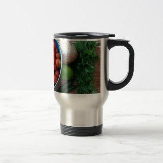 Fresh Garden Veggies Travel Mug