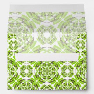 Fresh geometric pattern envelope