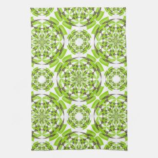 Fresh geometric pattern kitchen towel