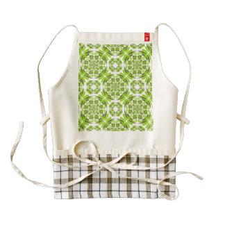 Fresh geometric pattern zazzle HEART apron