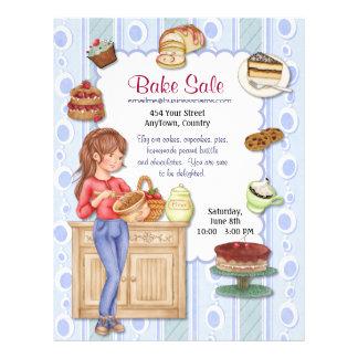 Fresh Goodness Bake Sale Flyer
