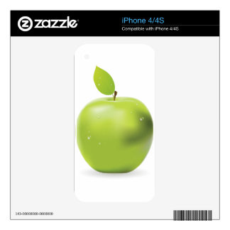 Fresh green apple skins for iPhone 4S