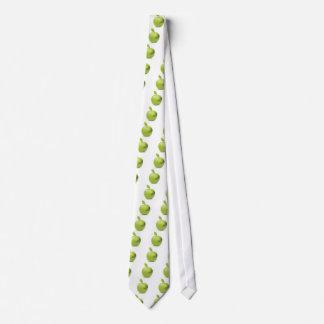 Fresh green apple tie
