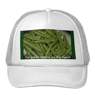 Fresh Green Beans Hats