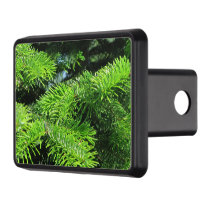 fresh green fir tree popular decoration hitch cover