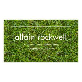Fresh Green Grass Business Card