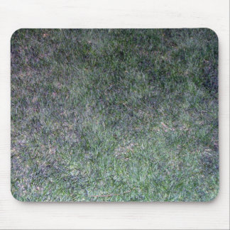 Fresh Green Grass Landscape Mouse Pad