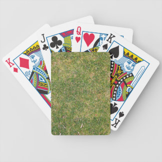 Fresh Green Grass Texture Bicycle Playing Cards