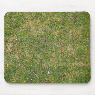 Fresh Green Grass Texture Mouse Pad