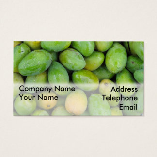 Fresh Green Mangos Business Card