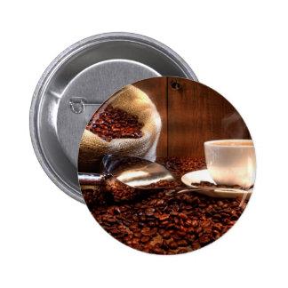 Fresh Ground Coffee Pin