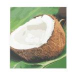 Fresh Hawaiian Coconuts Memo Notepad