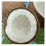 Fresh Hawaiian Coconuts Tile
