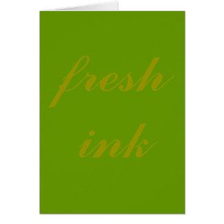 fresh ink card