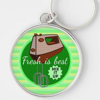 Fresh is best Mix it up Hand mixer Keychain
