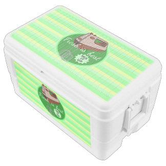 Fresh is best retro mixer design ice chest
