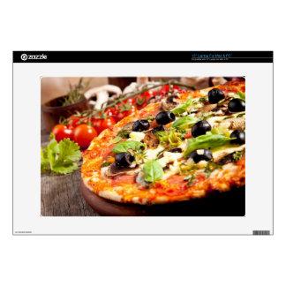 Fresh Italian pizza Skins For Laptops