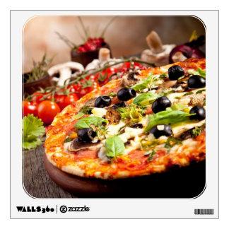 Fresh Italian pizza Wall Skins