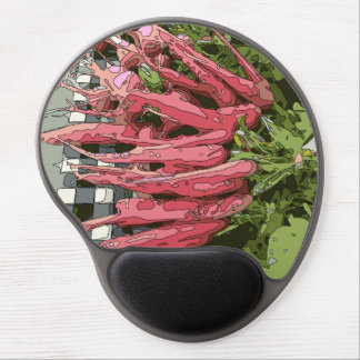 Fresh Juicy Carrots, Perfect for slicing! Gel Mouse Mat
