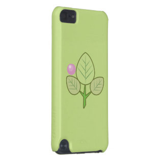 fresh leaves and charming ipod 5g case