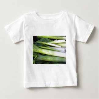Fresh leeks baby T-Shirt