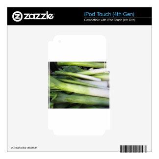 Fresh leeks skin for iPod touch 4G