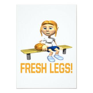 Fresh Legs Card