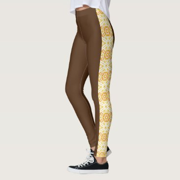"Beach Themed ""Fresh Legs"" Side Pattern Leggings 2"